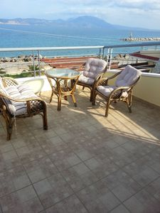Photo for Homerez last minute deal - Nice house with sea view and balcony