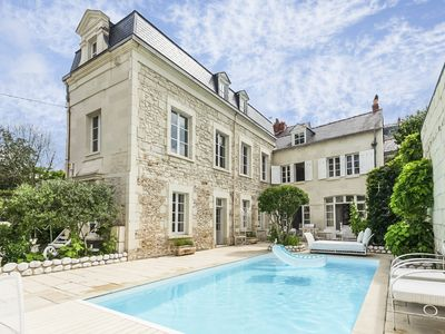 Photo for 4 bedroom Chateau, sleeps 8 with Pool, Air Con and FREE WiFi