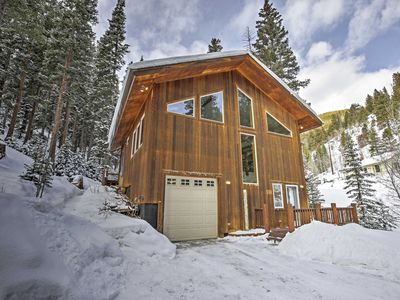 Photo for Secluded Creekside Dumont Home w/Deck Near Skiing!