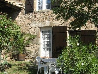 Photo for At the heart of the Corbières warm welcoming detached cottage T3 4 people