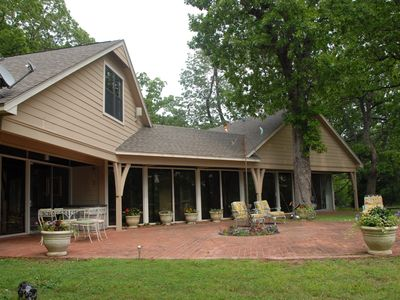 Photo for Beautiful Setting! Private, Comfortable and Clean Property on Wooded Acreage