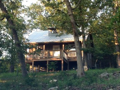 Photo for Family Friendly Fun! Near Branson. Relax-Quiet-Hike-Explore-Woods-Lake-Mountains