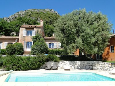 Photo for Villa Aurabelle, Provencal villa with garden and pool in Vence,