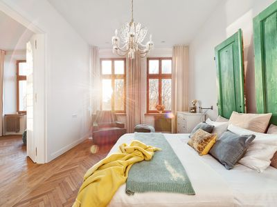 Photo for Breathtaking sunsets in unique home in Jewish Quarter next to Wawel castle