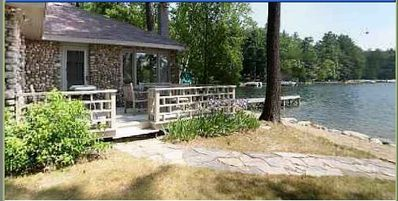 Photo for Charming cobblestone cottage-Private Wooded Peninsula-Heavenly!