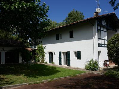 Photo for Beautiful traditional Basque style house, near St Jean de Luz and beaches.