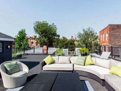 Photo for Historic Fire Station Penthouse Private Lounge Roofdeck Great Neighborhood