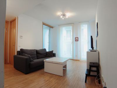 Photo for beautiful 3rd floor, 1-bedroom apartment on Calle de Cervantes, Madrid Cerv Ext