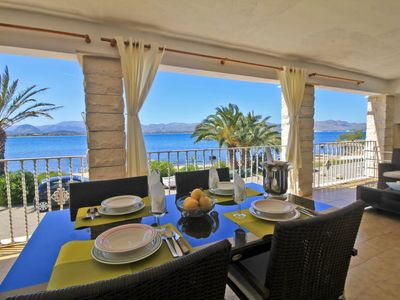 Photo for Apartment Voramar in Mallorca/Alcúdia - 6 persons, 3 bedrooms