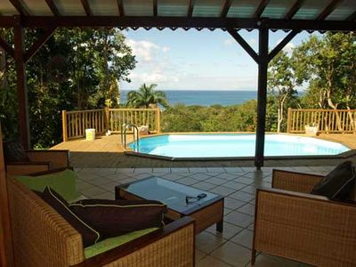 Photo for Mahogany Villa, a villa rental in Deshaies Guadeloupe