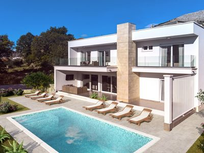Photo for Newly built modern  Villa Tanicius with pool, gym & sauna, family-friendly