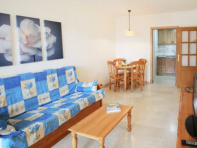Photo for One bedroom Apartment, sleeps 3 in Racó de l'Oix with Pool and WiFi