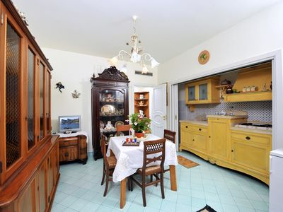 Photo for Apartment Ground, Sorrento Coast, with FREE swimming pool, parking, garden, WiFi