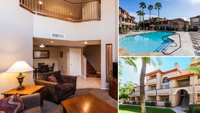 Photo for Elegant & CLEAN Pointe Condo1, Mtn Views, Lush Grounds, Pools ALWAYS Open/Heated