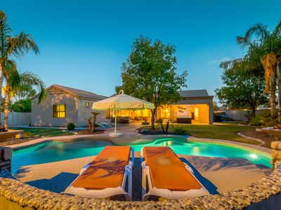 Photo for The Perfect Getaway- Private Lagoon Heated Swimming Pool and Spa- Sleeps 24