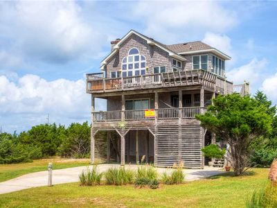 Photo for Immaculate Sunsets! Semi-Soundfront, Rodanthe- Pool w/ Cabana, Hot Tub, Grill
