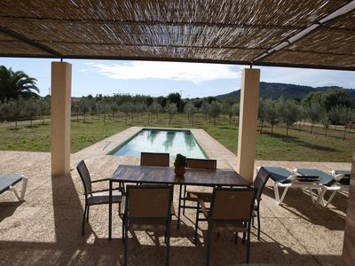 Photo for Large Finca Floriana No. 3 in Cala Millor for 6 persons with garden, pool and close to the beach.
