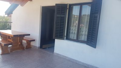 Photo for Apartment BV  A2(4)  - Cove Rukavac, Island Vis, Croatia