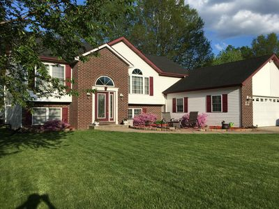 """Photo for Chesterton """"Golf View Estate"""" Your Midwest Tri-State Home Away From Home!"""