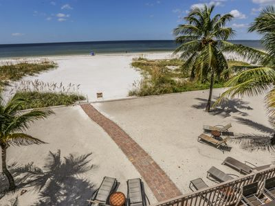 Welcome to The Beachfront Palace, a unique, large, luxurious, and rambling gulf-front home with 5 bedrooms and 4 baths