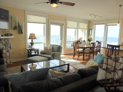 Photo for Discounts/Luxury Condo/Upper Floor Oceanfront/Balcony Hot Tub!