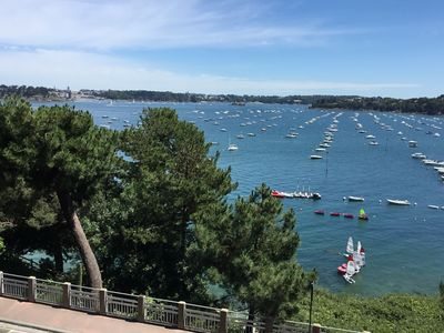 Photo for Apartment full sea view Dinard center