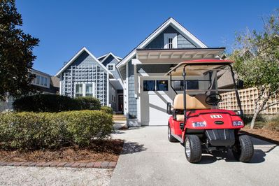 4 Seater Golf Cart is Included!