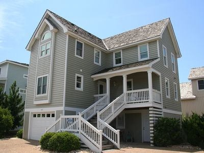 Photo for Family Tee And Sun: Oceanfront community pool, golf course community, Village at Nags Head.