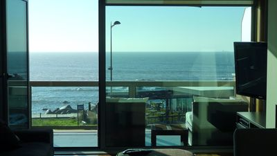 Photo for Beachfront apartment with spectacular ocean views. (SALGUEIROS)