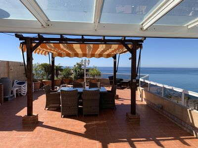 Photo for LUXURY OCEAN VIEW 3 BEDROOM PENTHOUSE APARTMENT WITH LARGE SOUTH  FACING TERRACE