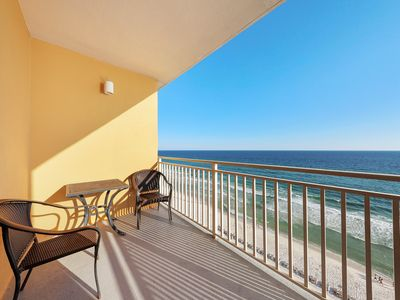Photo for Beachfront condo for the family w/ pool, lazy river, splash pad & hot tub!