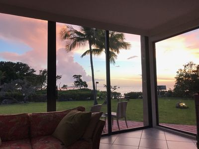 Photo for July 6th -17th  AVAILABLE Spectacular sunsets bay-front villa