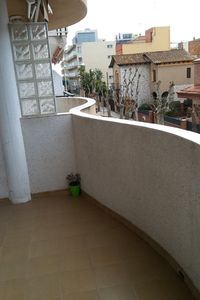 Photo for Nice apartment of 80.t a few steps from the beach and train station fe.