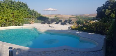 Photo for Beautiful and suggestive villa in the Sicilian countryside with swimming pool, Silcilia