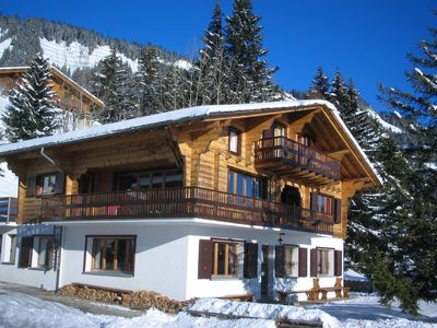 Photo for Outstanding chalet for groups, south facing, breathtaking views - all year round