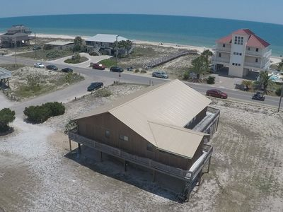 Photo for GET BACK TO THE BASICS when you vacation in this beach side home built of Cypress and Juniper.