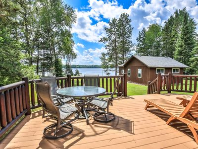 Photo for Cozy Log Cabins on Found Lake - Great for Families!