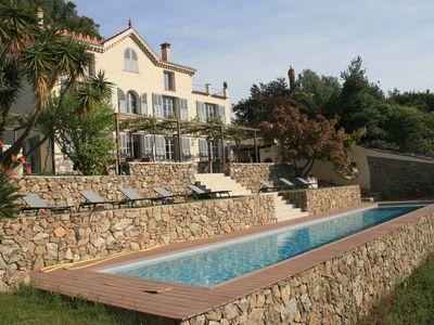 Photo for Charming house with magnificent sea view and stunning pisicne