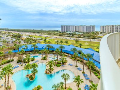 Photo for ☀Palms Resort 21015 Full2BR☀Jul 13 to 15 $984 Total! Pool & Gulf Views! FunPass