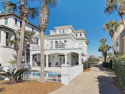 Photo for Updated Beach Home with Complimentary Golf Cart and Private Pool! Steps to the S