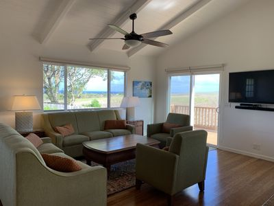 Ocean View home with central a/c - Walk To Downtown Paia and Beaches