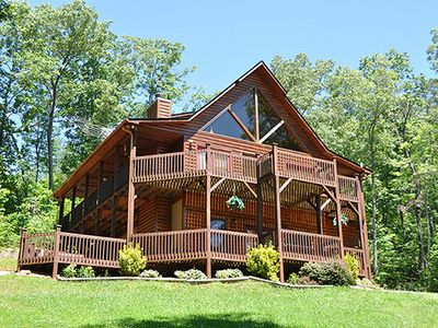 Luxury cabin with great views - Hot Tub - Pool Table