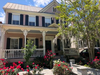 Photo for Quintessential Victorian Charmer in Heart of Charleston's Historic Downtown