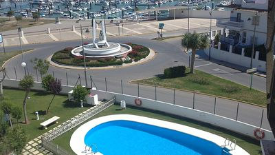 Photo for APARTMENT- CHIPIONA, GARAGE, POOL NEAR  THE TOWN CENTER AND BEACH, INTERNET, SATELLITE TV
