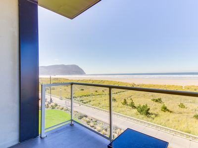 Photo for Spacious oceanfront getaway w/ shared pool at Sand & Sea, close to everything!