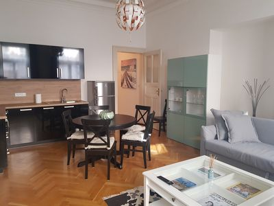 Photo for Charming flat in city center - by National Museum