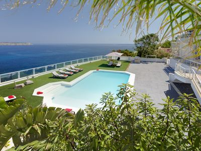 Photo for 6 Bedroom Luxury Villa with pool and magnificent views of the Mediterranean