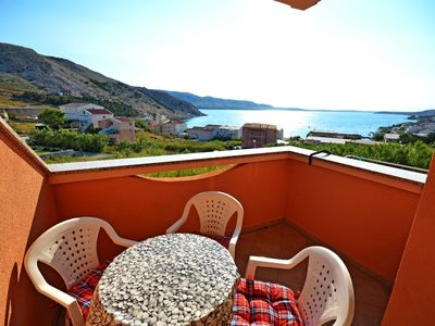 Photo for Apartment Durda  A4(2+2)  - Metajna, Island Pag, Croatia