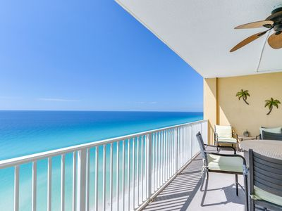 Photo for Booking Spring and Summer  NOW!!! 2bedroom/2bath Beachfront with Beach Service