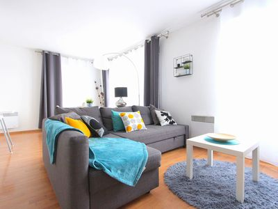 Photo for Marne la Vallée, apartment 4 people, in the center of Val d'Europe.